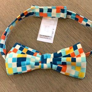 Zutano Accessories - Zutano multi-colored checkered Bow Tie for kids-OS